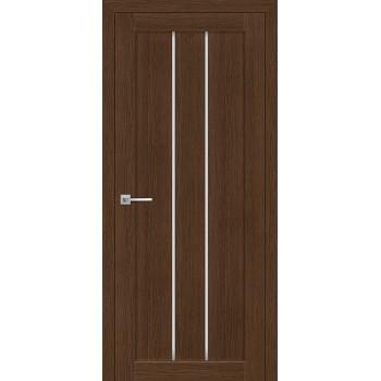 Дверь ТЕХНО-602 Орех Ночавелла  3D покрытие белый сатинат со стеклом (Товар № ZF12669)