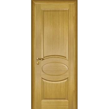 Дверь Алекс Светлый дуб  Шпон глухое (Товар № ZF12653)