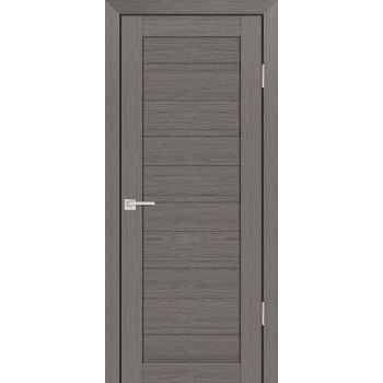Дверь PS-07 Грей Мелинга  Экошпон глухое (Товар № ZF114115)