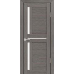 Дверь PS-19 Грей Мелинга  Экошпон белый сатинат со стеклом (Товар № ZF114193)