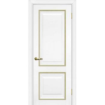 Дверь PSCL-28 Белый  Экошпон глухое (Товар № ZF114340)