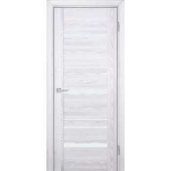 Дверь PSK-3 Ривьера айс  nanotex белый лакобель со стеклом (Товар № ZF114361)