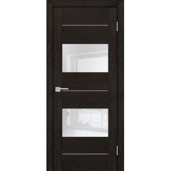 Дверь PSN- 8 Фреско антико  nanoflex белый лакобель со стеклом (Товар № ZF114417)