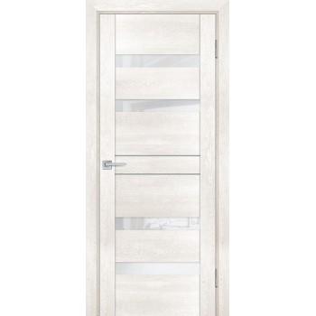 Дверь PSN- 9 Бьянко антико  nanoflex белый лакобель со стеклом (Товар № ZF114419)