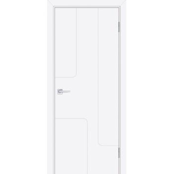 Дверь Смальта-Лайн 01 Белый ral 9003  Эмаль глухое (Товар № ZF114759)