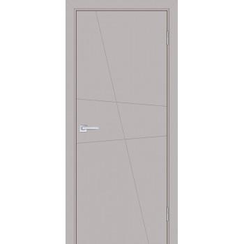 Дверь Смальта-Лайн 02 Агат ral 7044  Эмаль глухое (Товар № ZF114760)