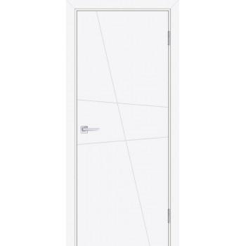 Дверь Смальта-Лайн 02 Белый ral 9003  Эмаль глухое (Товар № ZF114761)
