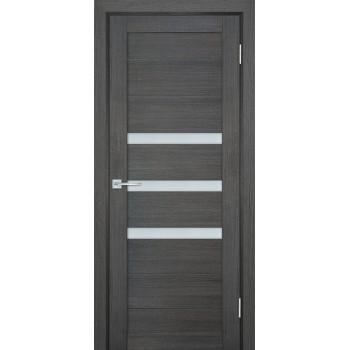 Дверь ТЕХНО-709 Грей  nanotex белый сатинат со стеклом (Товар № ZF114821)
