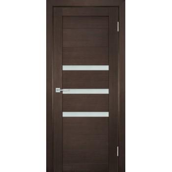 Дверь ТЕХНО-709 Венге  nanotex белый сатинат со стеклом (Товар № ZF114820)