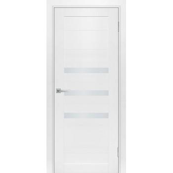 Дверь ТЕХНО-709 Белый  nanotex белый сатинат со стеклом (Товар № ZF213216)