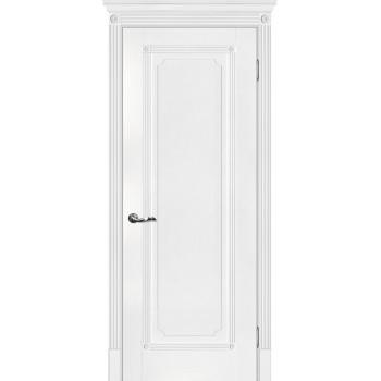 Дверь Флоренция-1 Белый  Экошпон глухое (Товар № ZF114972)