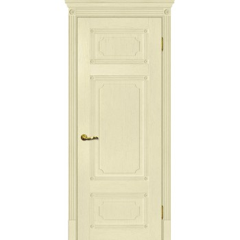 Дверь Флоренция-3 Ваниль  Экошпон глухое (Товар № ZF115018)