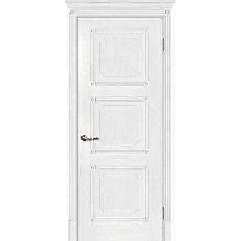 Дверь Флоренция-4 Пломбир  Экошпон глухое (Товар № ZF115046)