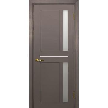 Дверь PSU-19 Каменное дерево  nanotex белый сатинат со стеклом (Товар № ZF213393)