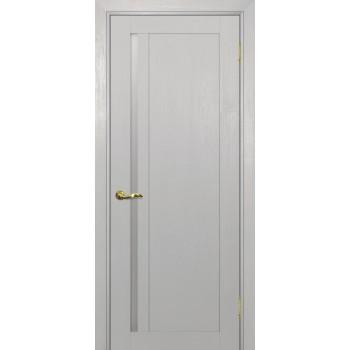 Дверь PSU-31 Лунное дерево  nanotex белый сатинат со стеклом (Товар № ZF213397)