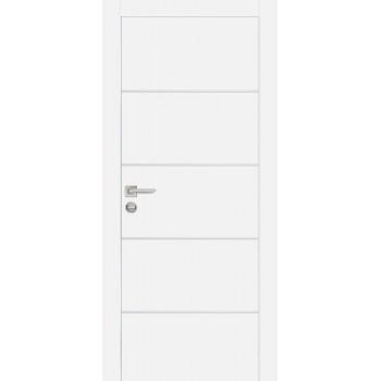 Дверь PX-12 Белый  Экошпон глухое (Товар № ZF213430)