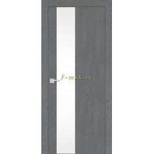 Дверь FX- 6 Ясень кварцевый  белый лакобель со стеклом (Товар № ZF114059)