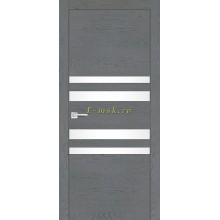 Дверь FX-12 Ясень кварцевый  белый лакобель со стеклом (Товар № ZF114071)