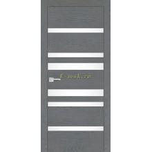 Дверь FX-13 Ясень кварцевый  белый лакобель со стеклом (Товар № ZF114075)