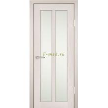 Дверь PS-22 ЭшВайт Мелинга  белый сатинат со стеклом (Товар № ZF114216)