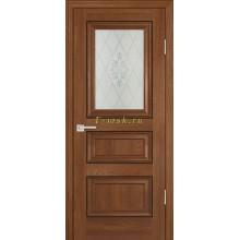 Дверь PSB-29 Дуб медовый  Сатинат, пескоструйная обработка со стеклом (Товар № ZF114291)