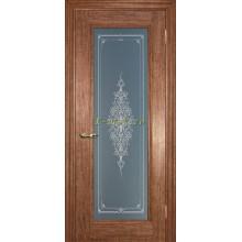 Дверь PSC-25 Орех мраморный  Бронза Кристалайз со стеклом (Товар № ZF114303)