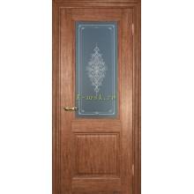 Дверь PSC-27 Орех мраморный  Бронза Кристалайз со стеклом (Товар № ZF114313)