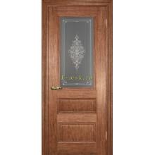Дверь PSC-29 Орех мраморный  Бронза Кристалайз со стеклом (Товар № ZF114323)