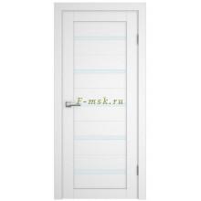 Дверь PSC-7 Белый  белый сатинат со стеклом (Товар № ZF114337)