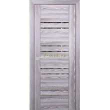 Дверь PSK-1 Ривьера грей  Зеркало тонированное со стеклом (Товар № ZF114350)