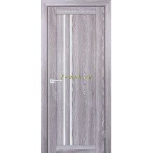 Дверь PSK-10 Ривьера грей  белый лакобель со стеклом (Товар № ZF114354)