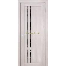 Дверь PSK-10 Ривьера крем  Зеркало тонированное со стеклом (Товар № ZF114355)
