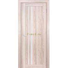 Дверь PSK-10 Ривьера крен-экрю  белый лакобель со стеклом (Товар № ZF114356)