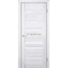 Дверь PSK-4 Ривьера айс  белый лакобель со стеклом (Товар № ZF114365)