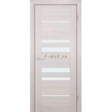 Дверь PSK-4 Ривьера крем  белый лакобель со стеклом (Товар № ZF114367)