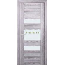 Дверь PSK-5 Ривьера грей  белый лакобель со стеклом (Товар № ZF114370)