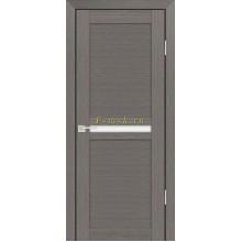 Дверь PS-03 Грей Мелинга  белый сатинат со стеклом (Товар № ZF114092)