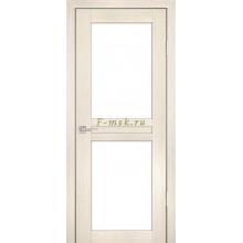 Дверь PS-04 ЭшВайт Мелинга  белый сатинат со стеклом (Товар № ZF114101)