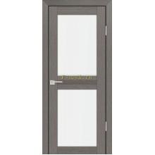Дверь PS-04 Грей Мелинга  белый сатинат со стеклом (Товар № ZF114098)