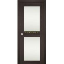 Дверь PS-04 Венге Мелинга  белый сатинат со стеклом (Товар № ZF114097)