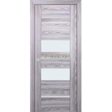 Дверь PSK-6 Ривьера грей  белый лакобель со стеклом (Товар № ZF114374)