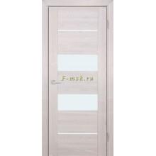 Дверь PSK-6 Ривьера крем  белый лакобель со стеклом (Товар № ZF114375)