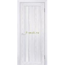 Дверь PSK-8 Ривьера айс  белый лакобель со стеклом (Товар № ZF114377)