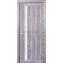 Дверь PSK-8 Ривьера грей  белый лакобель со стеклом (Товар № ZF114378)