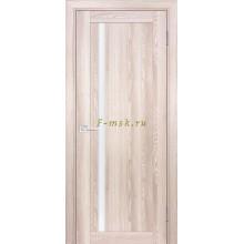 Дверь PSK-8 Ривьера крен-экрю  белый лакобель со стеклом (Товар № ZF114380)