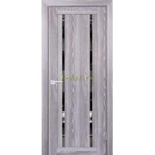 Дверь PSK-9 Ривьера грей  Зеркало тонированное со стеклом (Товар № ZF114382)