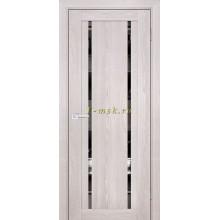 Дверь PSK-9 Ривьера крем  Зеркало тонированное со стеклом (Товар № ZF114383)