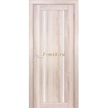 Дверь PSK-9 Ривьера крен-экрю  белый лакобель со стеклом (Товар № ZF114384)