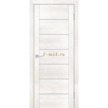 Дверь PSN- 1 Бьянко антико  белый сатинат со стеклом (Товар № ZF114386)