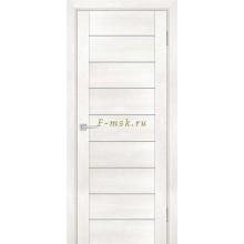 Дверь PSN- 2 Бьянко антико  белый сатинат со стеклом (Товар № ZF114390)